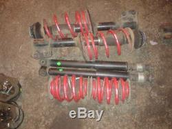 Renault clio sport 172 cup suspension with eibach lowering springs