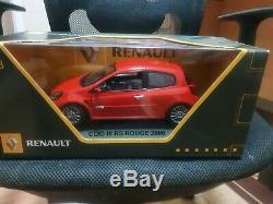 Renault clio sport 197 1/18 New rare solido