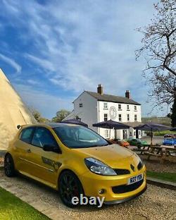 Renault sport f1 clio 197 r27 meglio megane engine swap liquid yellow recaros