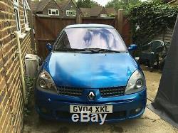 RenaultSport Clio 182 Sport Blue