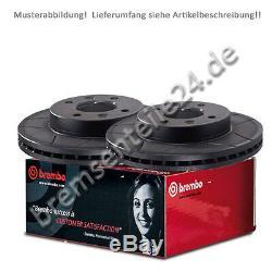 Satz (2 Stück) BREMBO MAX Sportbremsscheiben 09.5802.76 vorne