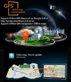 Single 1-Din Android 9.1 9 Car Stereo Radio GPS WiFi BT DAB Mirror Link OBD 16G
