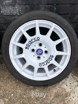 Sparco Terra 4x100 16 ET37 Alloy Wheels Renault Clio Sport Etc