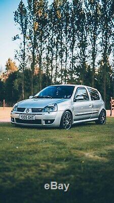 Speedline Turini 16 4x100 Renault Clio Sport 182 Fitment