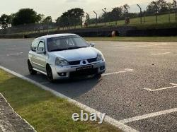 Track Day Car for Hire Renaultsport Clio 182, track, race, rally, sprint car