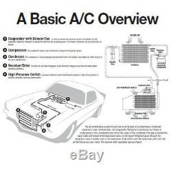 Universal 30W AC Underdash Evaporator For Auto Car Truck Air Conditioner 24V