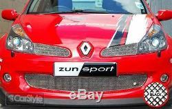 ZunSport Renault Clio Sport 197 2005 Onwards Black Steel Mesh Front Grille Set